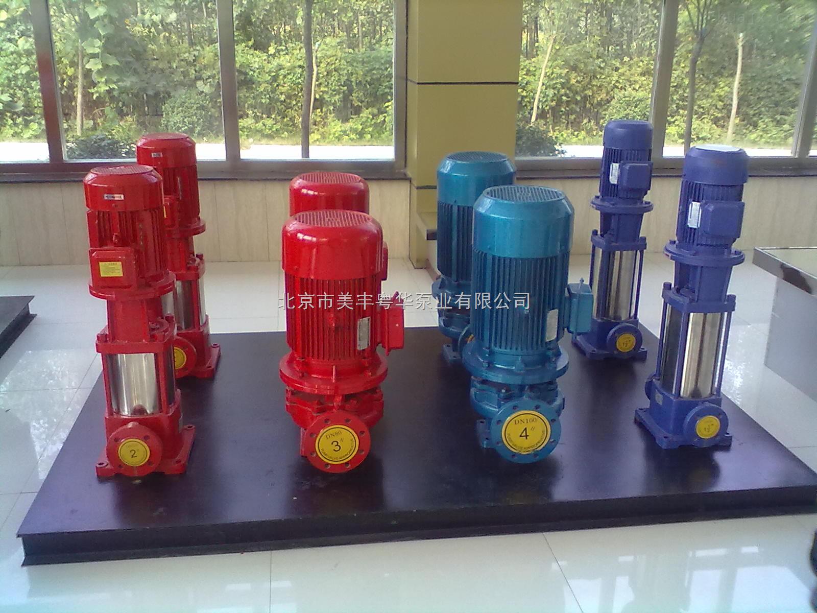 工厂消防泵一用一备电路图